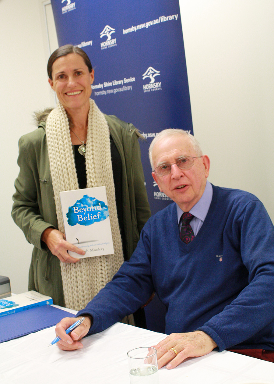 After a few false starts, I was finally able to meet Hugh Mackay.