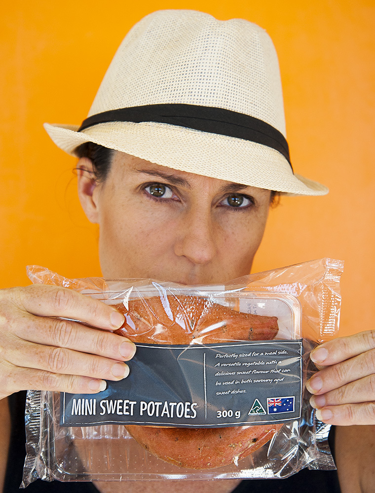Why does sweet potato need a plastic wrapper?